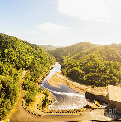 Hydro Wall Art - Photograph - Hydropower Valley River by Jorgo Photography - Wall Art Gallery