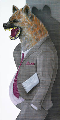 Hyena Communicatio Original by RP Browne