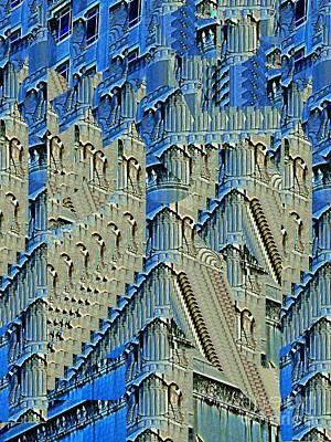 Digital Art - Hymn To The High Rise by Nancy Kane Chapman