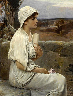Painting - Hypatia by Alfred Seifert