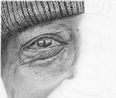 Hyperrealistic Drawing - Hyper Realistic Eye Study by Nolan Clark
