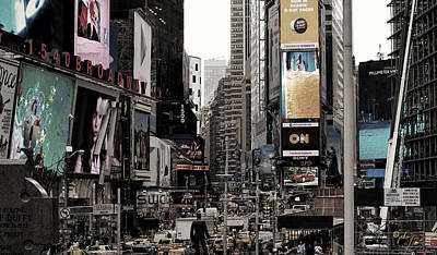 Photograph - Hyperactive City by Paulette B Wright