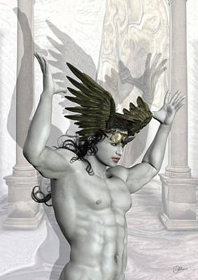 God Mixed Media - Hypnos by Quim Abella