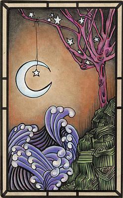 Hypnosis Art Print by Mordette Olivia Dyess