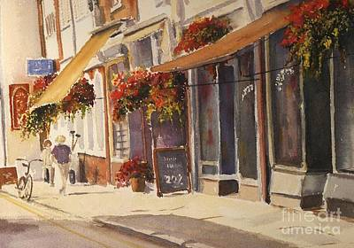 Painting - Hythe High Street by Beatrice Cloake