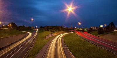 Photograph - I-44 Abd I-55 Interchange by Garry McMichael