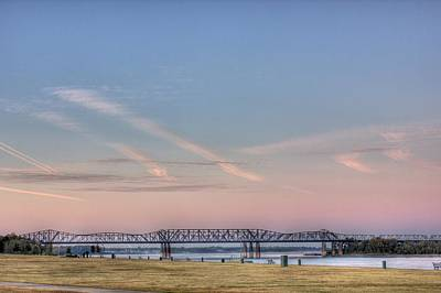 Photograph - I-55 Bridge Over The Mississippi by Barry Jones