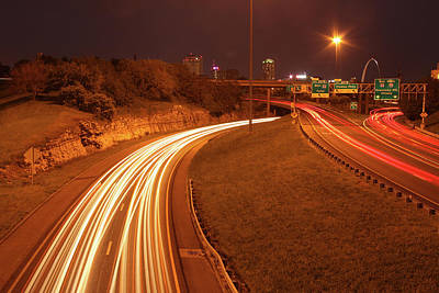 Photograph - I-55 On Ramp by Garry McMichael