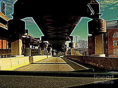Photograph - I-64 Downtown by Nancy Kane Chapman