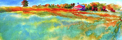 Pennsylvania Farm Painting - I Ain't Workin' On Maggie's Farm No More by Virgil Carter