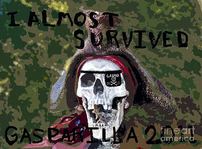I Almost Survived Art Print by David Lee Thompson