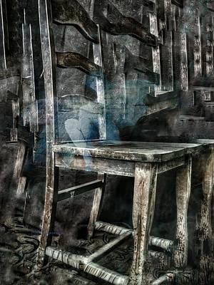 Digital Art - I Am A Chair by Delight Worthyn