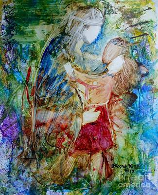 Painting - I Am A Child Of God by Deborah Nell