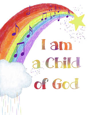 Digital Art - I Am A Child Of God 3 by Ramona Murdock