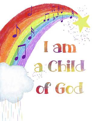 Digital Art - I Am A Child Of God 3 by Ramona Murdock