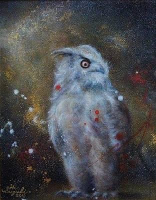 Animals Painting - I Am A One. by Hiroyuki Suzuki