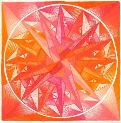 I Am Alive Art Print by Ulla Mentzel