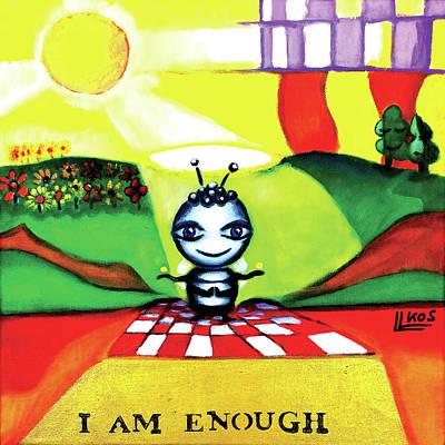 Painting - I Am Enough by Lorette Kos