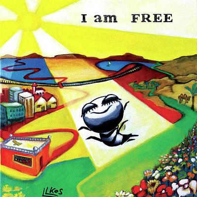Painting - I Am Free by Lorette Kos