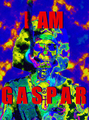 Painting - I Am Gaspar Work A by David Lee Thompson
