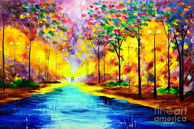 Painting - I Am Here by Mariana Stauffer