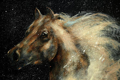 Painting - I Am In The Stars And In Your Heart by Barbie Batson