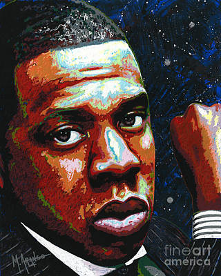 Painting - I Am Jay Z by Maria Arango