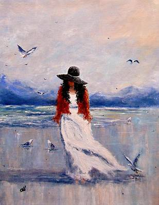 Painting - I Am Just A Dreamer.. by Cristina Mihailescu