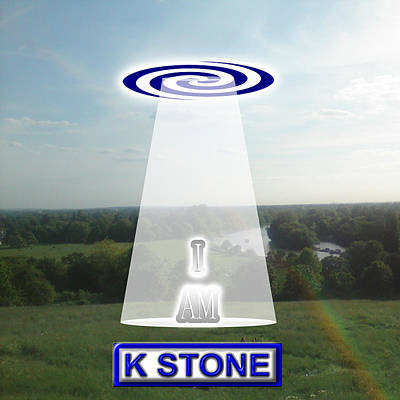 Wall Art - Digital Art - I Am by K STONE UK Music Producer