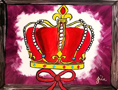 Painting - I Am King  by Tornado Thien