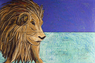 Painting - I Am Leo by Rebecca Weeks Howard