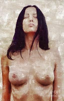 Pussy Painting - I Am Mystery by Mary Bassett