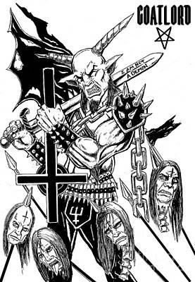 I Am Not A Demon Art Print by Alaric Barca
