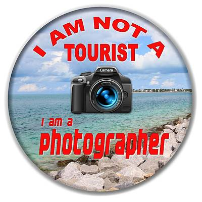 Photograph - I Am Not A Tourist by Bob Slitzan