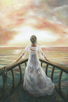 I Am Sailing Painting - I Am Not Aftraid by Pennie Strople