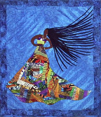 Tapestry - Textile - I Am Not My Hair #7 by Aisha Lumumba