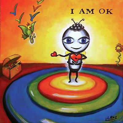 Painting - I Am Ok by Lorette Kos
