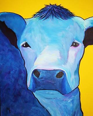 Painting - I Am So Blue by Melinda Etzold