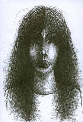 Creativity Drawing - I Am Such Lonely  by Wojtek Kowalski
