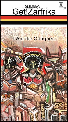 I Am The Conquer Rainbow Art Print