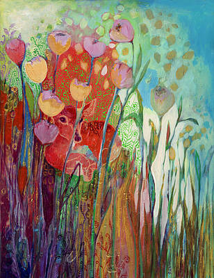 Painting - I Am The Grassy Meadow by Jennifer Lommers