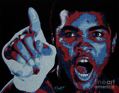 Painting - I Am The Greatest by Maria Arango