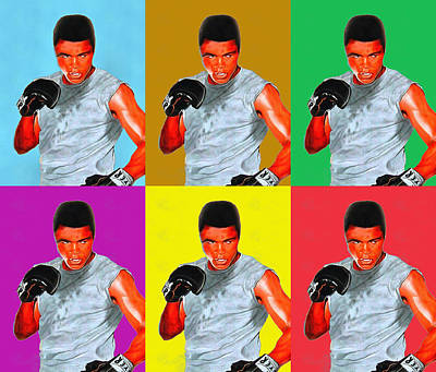 Curated Weekender Tote Bags - I Am The Greatest Muhammad Ali by Studio Artist