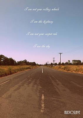 Photograph - I Am The Highway 2 by Guy Pettingell