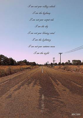 Photograph - I Am The Highway by Guy Pettingell