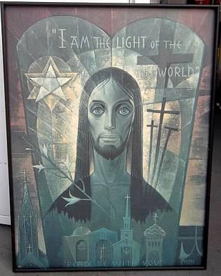 I Am The Light Of The World Original by Conrad Pickel