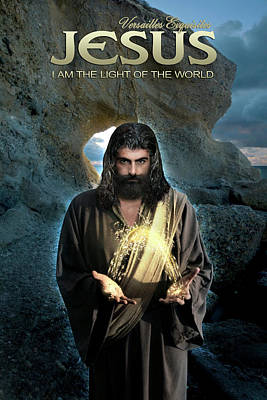 Photograph - I Am The Light Of The World - Jesus Christ by Acropolis De Versailles