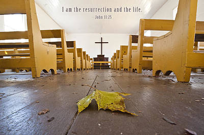Photograph - I Am The Ressurection by David Simchock