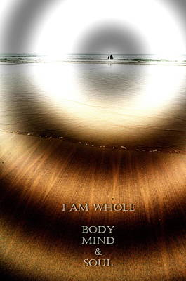 Photograph - I Am Whole by Richard Omura