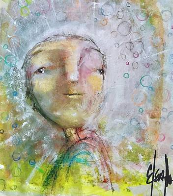 Mixed Media - I Am Worthy by Eleatta Diver